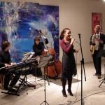 Jazz v galeriji