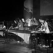 BUMfest 9. deveti mednarodni tolkalni festival, tolkalna skupina Sudar Percussion, 2015 Foto: Tone Tavčar