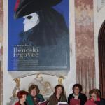 Odprtje pregledne razstave grafičnega oblikovalca Jožeta Domjana: Oko. Misel. Roka. (1973-2013), 2013. Foto: Tone Tavčar