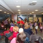Nodi na obisku - delavnica za otroke, 22.12.2012. Foto Zvone Butala