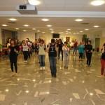 Plesna delavnica salse, 13.5.2014.  Foto arhiv društva Salson, Novo mesto.